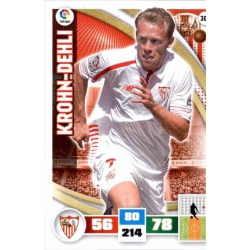 Krohn-Dehli Sevilla 304 Adrenalyn XL La Liga 2015-16