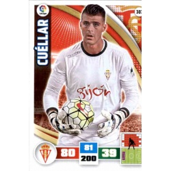 Cuéllar Sporting 307 Adrenalyn XL La Liga 2015-16