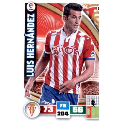 Luis Hernández Sporting 309 Adrenalyn XL La Liga 2015-16