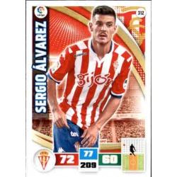 Sergio Álvarez Sporting 312 Adrenalyn XL La Liga 2015-16