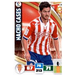 Nacho Cases Sporting 313 Adrenalyn XL La Liga 2015-16
