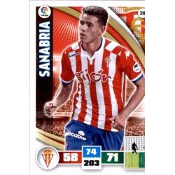 Sanabria Sporting 316 Adrenalyn XL La Liga 2015-16