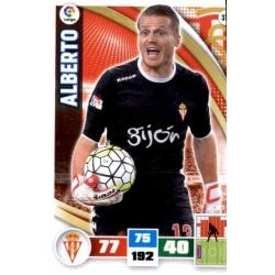 Alberto Sporting 318 Adrenalyn XL La Liga 2015-16
