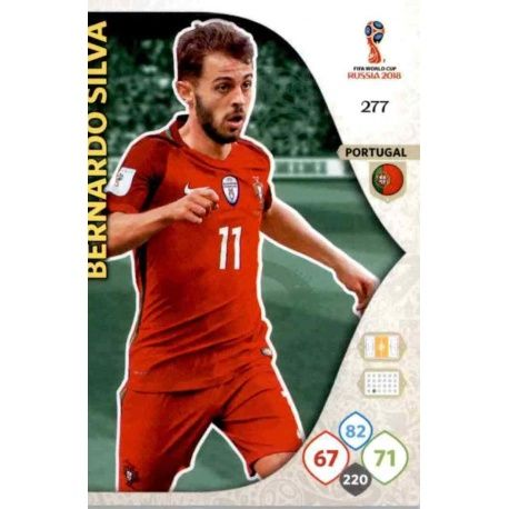 Bernardo Silva Portugal 277 Adrenalyn XL World Cup 2018
