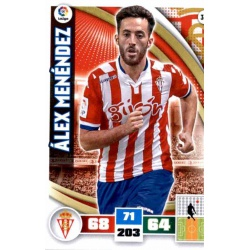 Álex Menéndez Sporting 321 Adrenalyn XL La Liga 2015-16