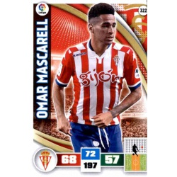 Omar Mascarell Sporting 322 Adrenalyn XL La Liga 2015-16
