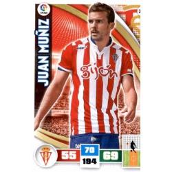 Juan Muñiz Sporting 323 Adrenalyn XL La Liga 2015-16