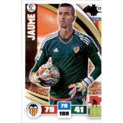 Jaume Valencia 325 Adrenalyn XL La Liga 2015-16