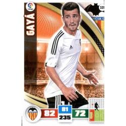 Gayá Valencia 329 Adrenalyn XL La Liga 2015-16
