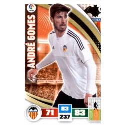 André Gomes Valencia 331 Adrenalyn XL La Liga 2015-16