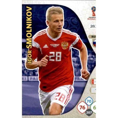 Igor Smolnikov Rusia 283 Adrenalyn XL Russia 2018