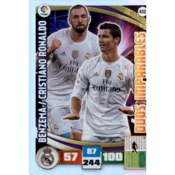 Benzema - Cristiano Ronaldo Dúos Imparables 432