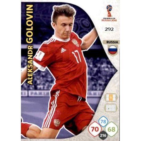 Aleksandr Golovin Rusia 292 Adrenalyn XL World Cup 2018