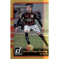 Kevin-Prince Boateng Gold Parallel Donruss Gold Parallel 2016-17