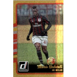 Mario Balotelli Gold Parallel Donruss Gold Parallel 2016-17