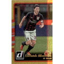 Riccardo Montolivo Gold Parallel Donruss Gold Parallel 2016-17