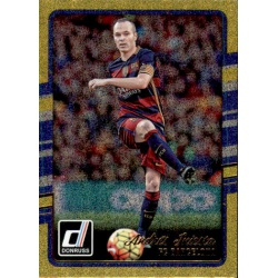Andres Iniesta Gold Parallel