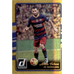 Arda Turan Gold Parallel Donruss Gold Parallel 2016-17