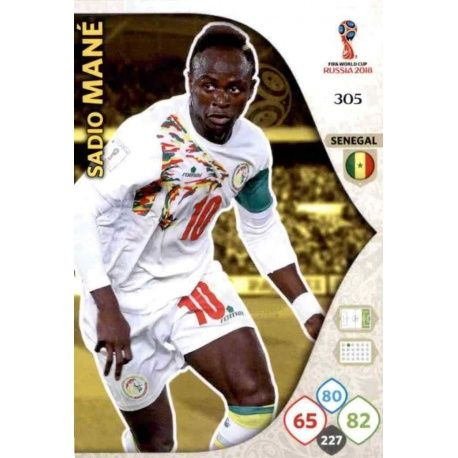 Samio Mané Senegal 305 Adrenalyn XL World Cup 2018