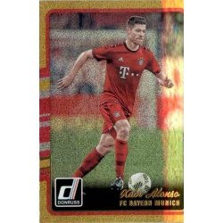 Xabi Alonso Gold Parallel Donruss Gold Parallel 2016-17