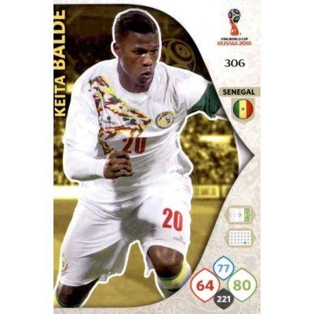Keita Baldé Senegal 306 Adrenalyn XL World Cup 2018