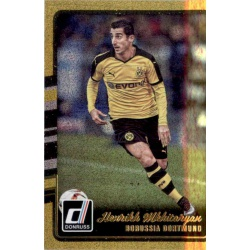 Henrikh Mkhitaryan Gold Parallel Donruss Gold Parallel 2016-17