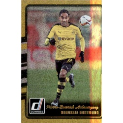 Pierre-Emerick Aubameyang Gold Parallel Donruss Gold Parallel 2016-17
