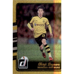 Shinji Kagawa Gold Parallel Donruss Gold Parallel 2016-17