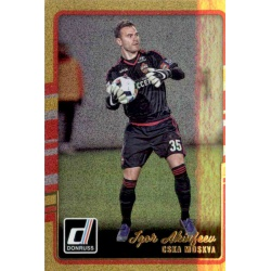 Igor Akinfeev Gold Parallel Donruss Gold Parallel 2016-17