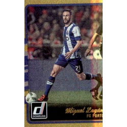 Miguel Layun Gold Parallel Donruss Gold Parallel 2016-17