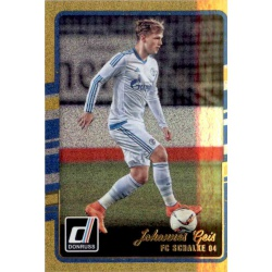 Johannes Geis Gold Parallel Donruss Gold Parallel 2016-17