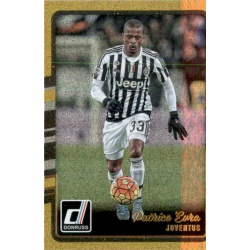 Patrice Evra Gold Parallel Donruss Gold Parallel 2016-17