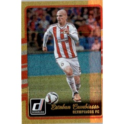 Esteban Cambiasso Gold Parallel Donruss Gold Parallel 2016-17