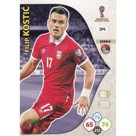 Filip Kostić Serbia 314