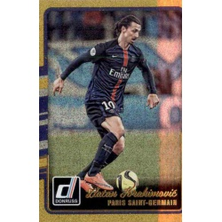 Zlatan Ibrahimovic Gold Parallel Donruss Gold Parallel 2016-17
