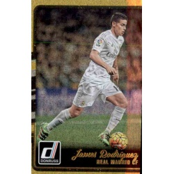 James Rodriguez Gold Parallel Donruss Gold Parallel 2016-17