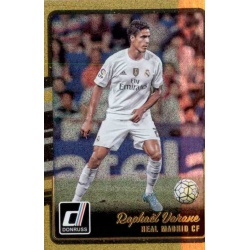 Raphael Varane Gold Parallel Donruss Gold Parallel 2016-17