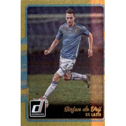 Stefan de Vrij Gold Parallel Donruss Gold Parallel 2016-17