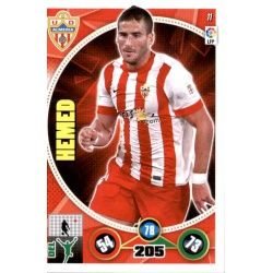 Hemed Almeria 11 Adrenalyn XL La Liga 2014-15