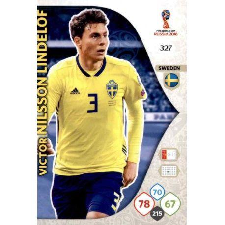 Victor Nilsson Lindelöf Suecia 327 Adrenalyn XL World Cup 2018
