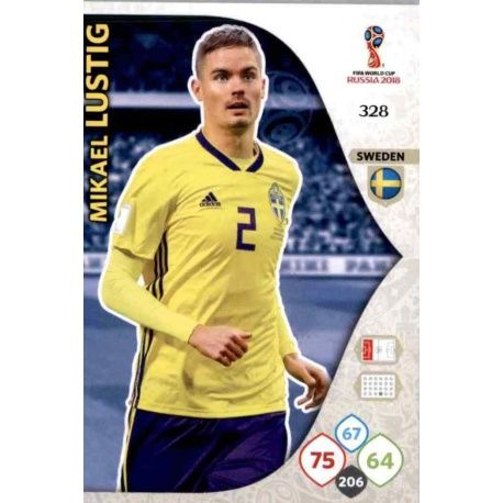 Mikael Lusti Suecia 328 Adrenalyn XL World Cup 2018