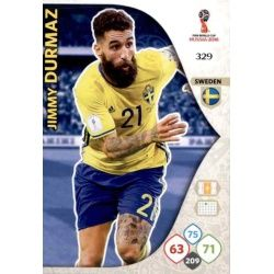 Jimmy Durmaz Suecia 329 Adrenalyn XL Russia 2018