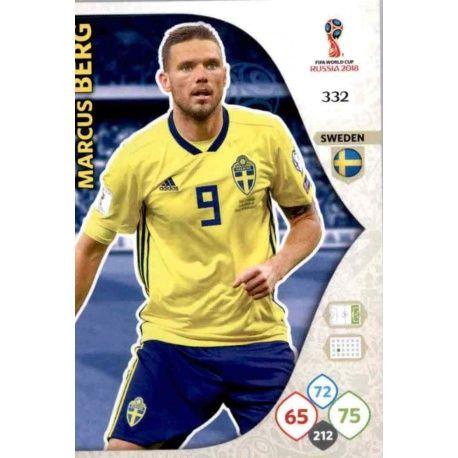 Marcus Berg Suecia 332