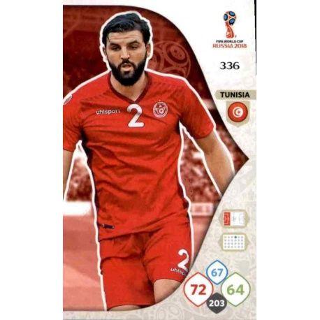 Syam Ben Youssef Túnez 336 Adrenalyn XL Russia 2018