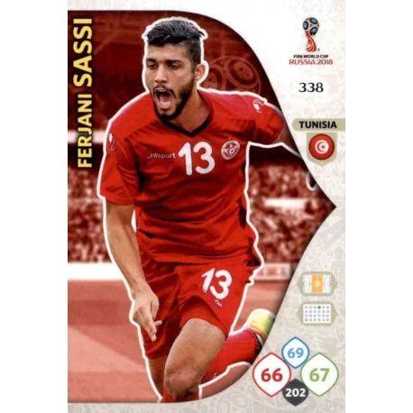 Ferjani Sassi Túnez 338 Adrenalyn XL World Cup 2018