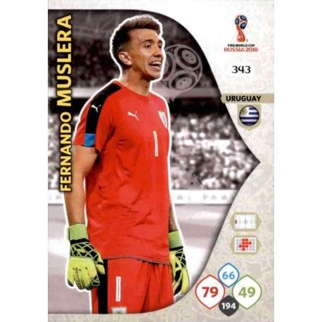 Fernando Muslera Uruguay 343 Adrenalyn XL World Cup 2018