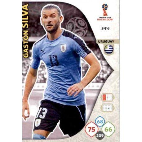 Gastón Silva Uruguay 349 Adrenalyn XL World Cup 2018