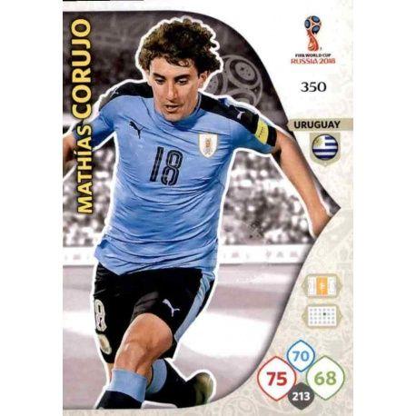 Mathías Corujo Uruguay 350 Adrenalyn XL Russia 2018