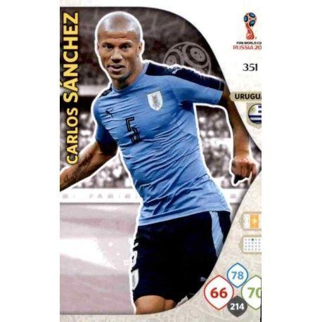 Carlos Sánchez Uruguay 351 Adrenalyn XL Russia 2018