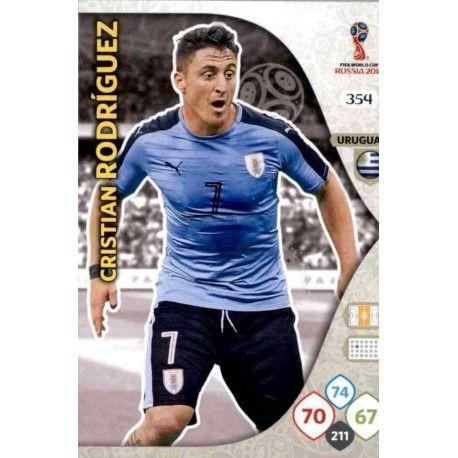 Cristian Rodríguez Uruguay 354